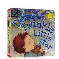 【全店300减100】英文原版 一闪一闪亮晶晶 满天都是小星星 Twinkle Twinkle Little Star