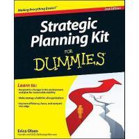 【预订】Strategic Planning Kit For Dummies, 2Nd Edition