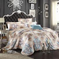 春夏双面天丝四件套冰丝床单被套床上用品1.8m2.0米床双人
