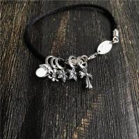 925银Bracelet CrossKZ十字红绳手绳手串手链网红款