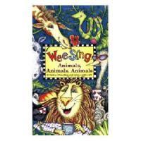 英文原版儿童书 Wee Sing Animals, Animals, Animals [With CD] 有声读物