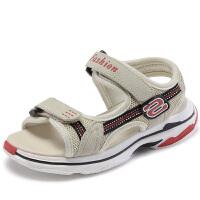 女童凉鞋夏季新款休闲中大童男儿童运动时尚潮沙滩鞋
