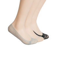 网易严选 优雅蕾丝女式隐形袜