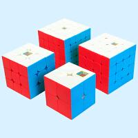 儿童初学者比赛专用玩具 三阶3二2四4五5阶全套装学生顺滑