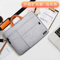 moby苹果小米三星15.6笔记本电脑包女手提13.3寸air商务内胆包男15华硕戴尔游戏本14pr