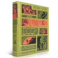 英文原版绘本 The Jungle Book 立体书 收藏版 森林王子 奇幻森林 3D手工 精美插图 丛林探险神奇趣味