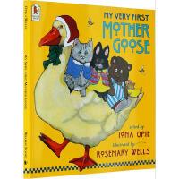 My Very First Mother Goose 我的第一本鹅妈妈童谣【英文原版 廖彩杏推荐】