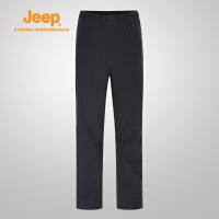 【特惠价】Jeep/吉普 男士户外运动男耐磨速干薄款登山裤J812093802