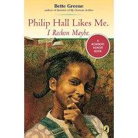 《贝丝丫头》(1975年 纽伯瑞银奖小说) 英文原版 Philip Hall Likes Me I Reckon (9