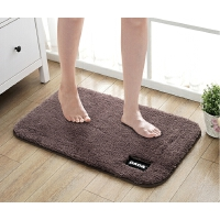 浴室吸水防滑脚垫绒面进门垫子卫浴卫生间门口地垫卧室床边毯