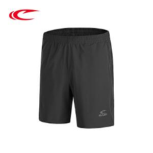 赛琪男裤五分裤2017夏季新品舒适透气跑步健身裤速干梭织运动短裤