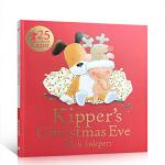 顺丰发货 英文原版进口绘本 小狗奇普的平安夜 Kipper's Christmas Eve 廖彩杏书单获斯马尔蒂斯奖