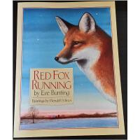 【全店300减100】Red Fox Running绘本 汪培�E第三阶段菜单推荐 英文原版