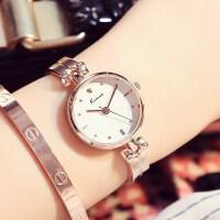 正品KIMIO时尚简约休闲手链表女士手表钢带时装学生石英表6041