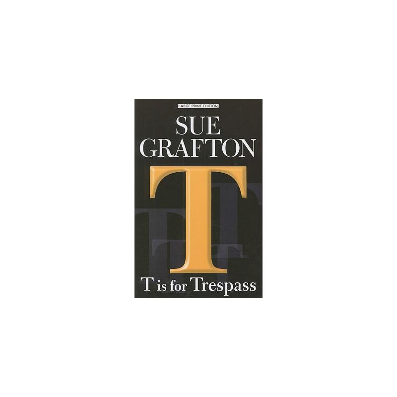 【预订】T Is for Trespass 预订商品,需要1-3个月发货,非质量问题不接受退换货。