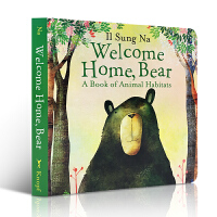 英文原版绘本 Welcome Home, Bear 欢迎回家,小熊 0-3-6岁儿童绘本 早教读物 纸板书 Il Sung Na 温馨亲情 启蒙入门 韩国插画名家伊尔宋娜作品