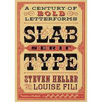 Slab Serif Type板衬线字体 海报报纸字体设计书