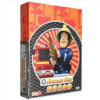 原装正版 消防员山姆合集3(4DVD)儿童安全教育动画片光盘碟片中英双语正版