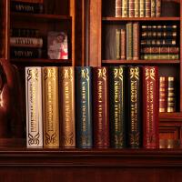 复古仿真书假书装饰家庭装饰书房摆件