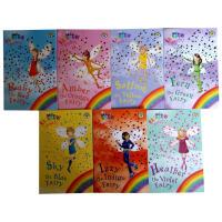 英文原版Rainbow Magic fairies 1-7 7本合售 彩虹仙子章节书绘本