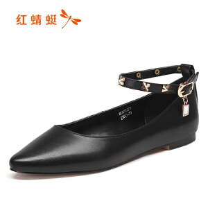 红蜻蜓 红蜻蜓女鞋秋冬休闲鞋鞋子女WTB7222