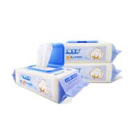 [当当自营]全棉生活婴儿口手通用湿巾80抽*3包