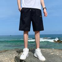 短裤男士2021年夏季韩版潮流潮牌外穿宽松薄款五分休闲工装