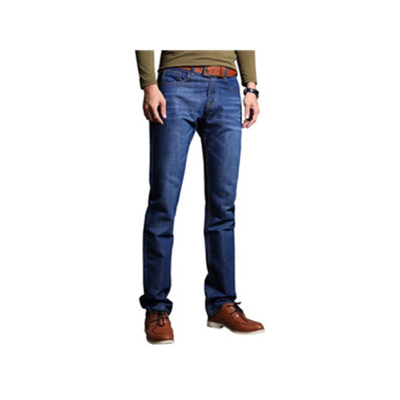 1号牛仔 春夏男装休闲裤直筒宽松牛仔裤男士长裤子商务休闲男裤