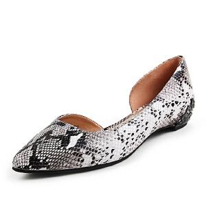 Belle/百丽春季专柜同款猪皮女凉鞋BDU33AK6