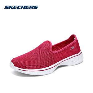 Skechers斯凯奇女鞋GO WALK4网眼透气健步鞋 休闲运动鞋 14906