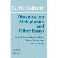 【预订】Discourse on Metaphysics and Other Essays: Discourse