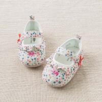 davebella戴维贝拉2018春夏新款婴儿鞋 女宝宝软底步前鞋DB6736