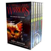 【全店300减100】【猫武士曲】英文原版小说 Warriors The Complete First Series 1