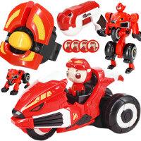 猪猪侠深海小英雄竞速变形手表变身器恐龙日记铁拳虎超星萌宠玩具