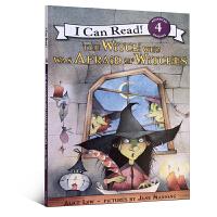 英文原版 I Can Read系列 The Witch Who Was Afraid of Witches 害怕女巫的