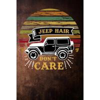 【预订】jeep hair dont care: camping adventure funny Lined Note