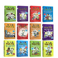 大内特冒险记 我们班有个捣蛋王 全彩漫画版 英文原版 Big Nate 12册 幽默绘本桥梁章节书 儿童课后阅读故事读