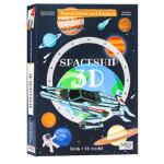 【正版直发】英文原版Travel Learn And Explore Spaceship 3D宇宙飞船模型书 Engl