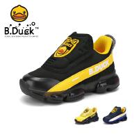 【4折价:103.6】B.Duck小黄鸭童鞋男童运动鞋春季新款儿童鞋网面透气学生潮鞋B3083054