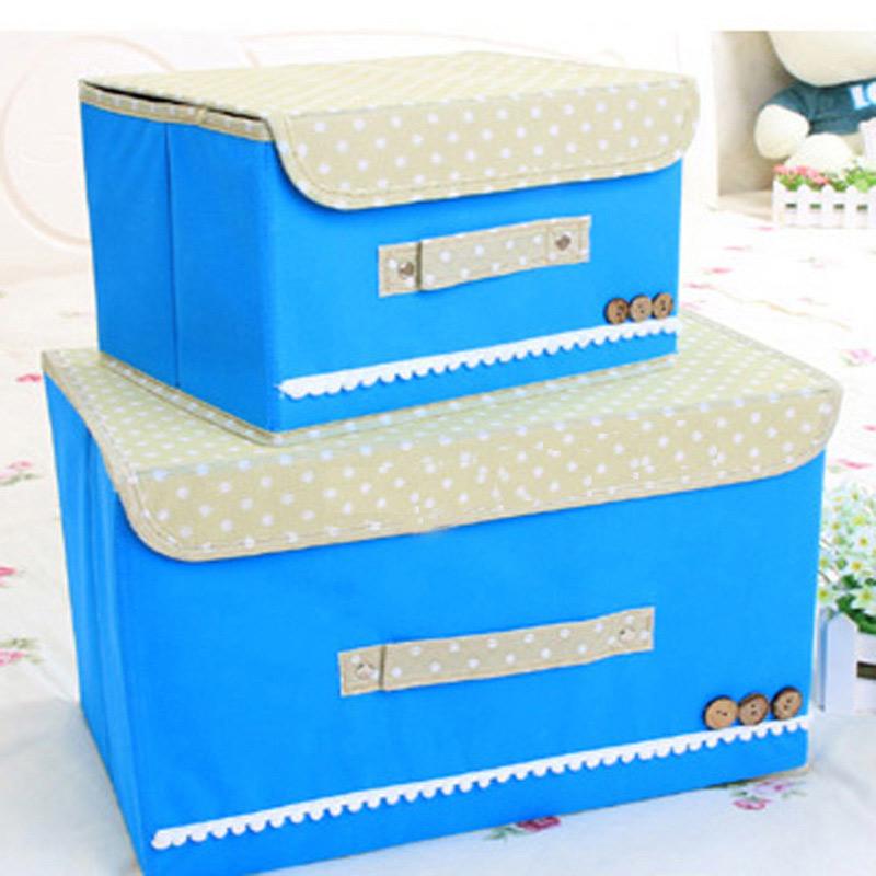 索尔诺 单盖腹膜纯色可洗收纳箱 储物箱 整理箱有盖防水防潮单个装颜色多选  拆开即用