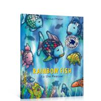 【全店300减100】Rainbow Fish to The Rescue!彩虹鱼大救星 Marcus Pfister经