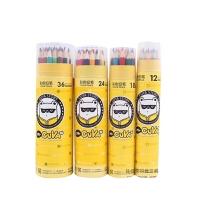 真彩儿童彩色铅笔48色36色24色填色笔彩铅笔秘密花园画笔套装手绘