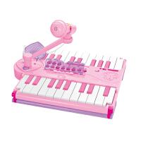BARBIE 芭比公主 儿童电子琴带麦克风女孩音乐玩具 包包琴B106