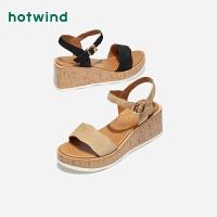 女士凉鞋一字扣带青年凉鞋H55W9215