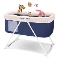 婴儿床欧式免安装可折叠便携摇篮床摇床宝宝床