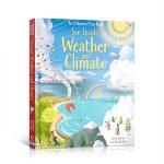 顺丰发货 英文原版 看里面系列:See Inside Weather & Climate 揭秘天气 科普立体翻翻纸板书
