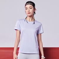 361运动t恤女2020夏季新款透气速干短t圆领上衣宽松薄款短袖女士女装