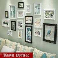 现代简约照片墙个性沙发背景墙装饰卧室创意相框墙组合组合相框