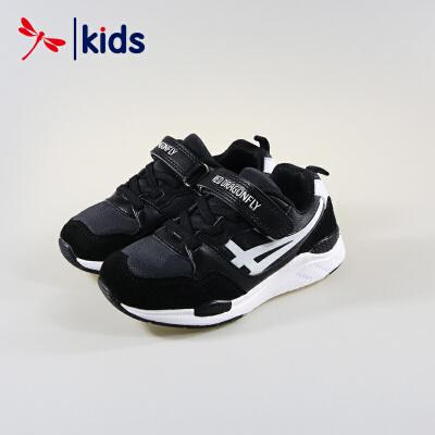 红蜻蜓童鞋男童中大童春秋季减震跑步鞋运动鞋