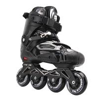 溜冰鞋花式平花鞋轮滑鞋男速滑刹车鞋软面鞋HV直排轮